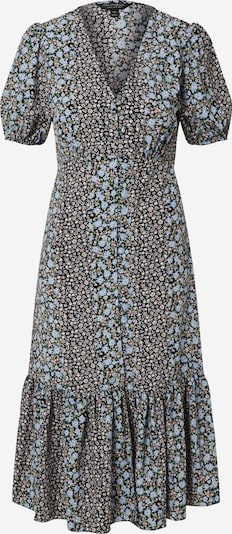 Miss Selfridge Kleid 'SPLICED' in blau: Frontalansicht
