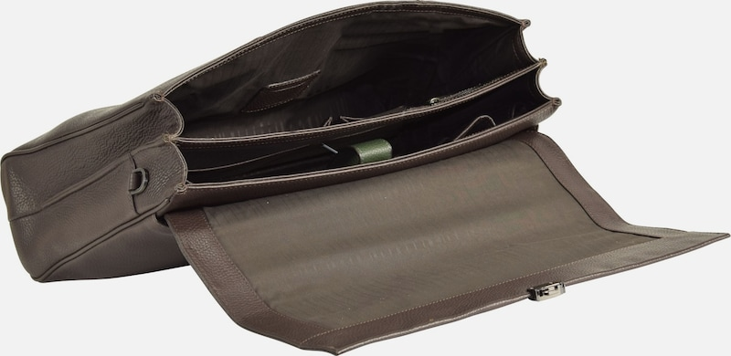 SAMSONITE Equinox Aktentasche Leder 43 cm Laptopfach