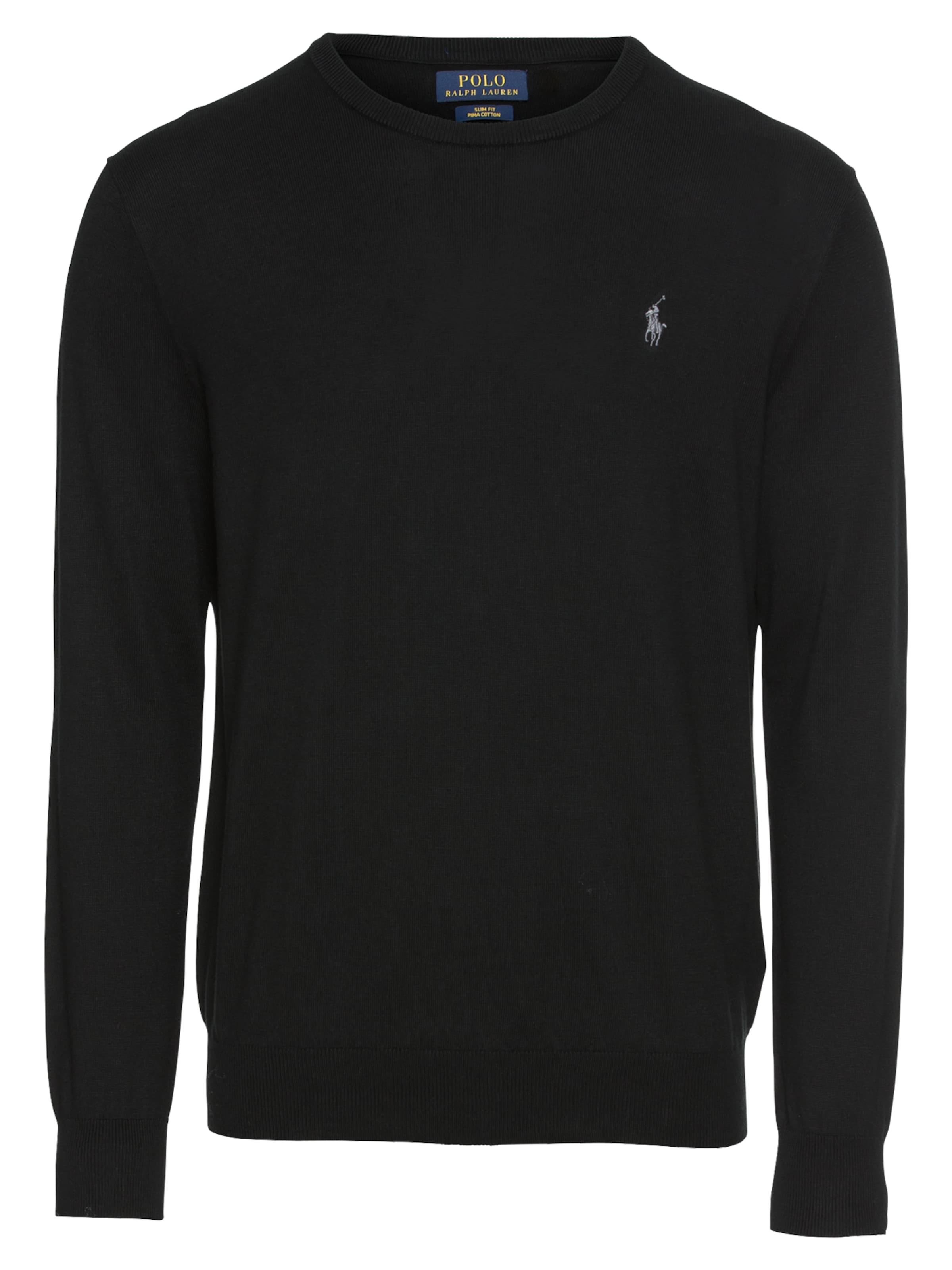 sweater' In Sf long Pullover 'ls Cn Schwarz Polo Sleeve Ralph Lauren Pp yN8nP0vwOm