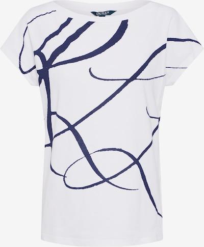Marškinėliai 'GRIETA' iš Lauren Ralph Lauren, spalva – nakties mėlyna / balta, Prekių apžvalga