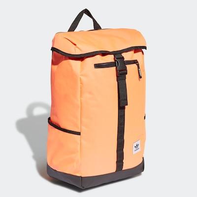 ADIDAS ORIGINALS Rucksack in orange / schwarz, Produktansicht