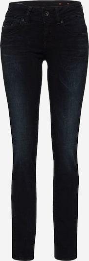 G-Star RAW 'Midge Saddle Mid Straight' Jeans in black denim, Produktansicht