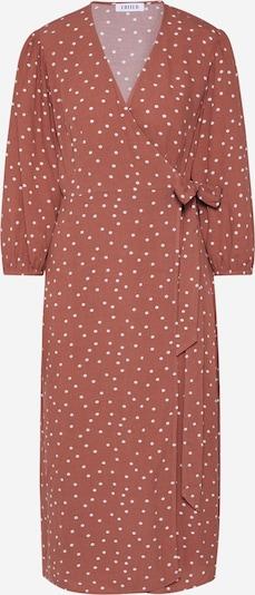 EDITED Kleid  'Alene' in braun / weiß, Produktansicht