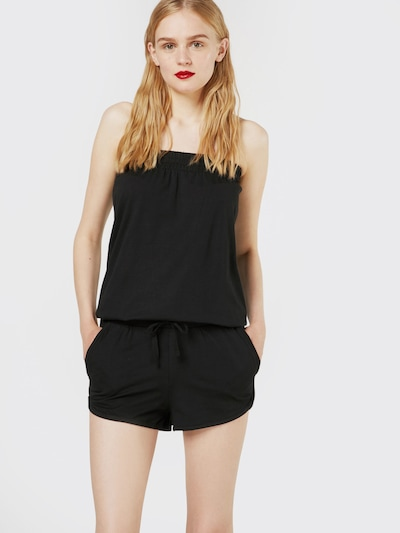Urban Classics Jumpsuit 'Hot' in schwarz, Modelansicht