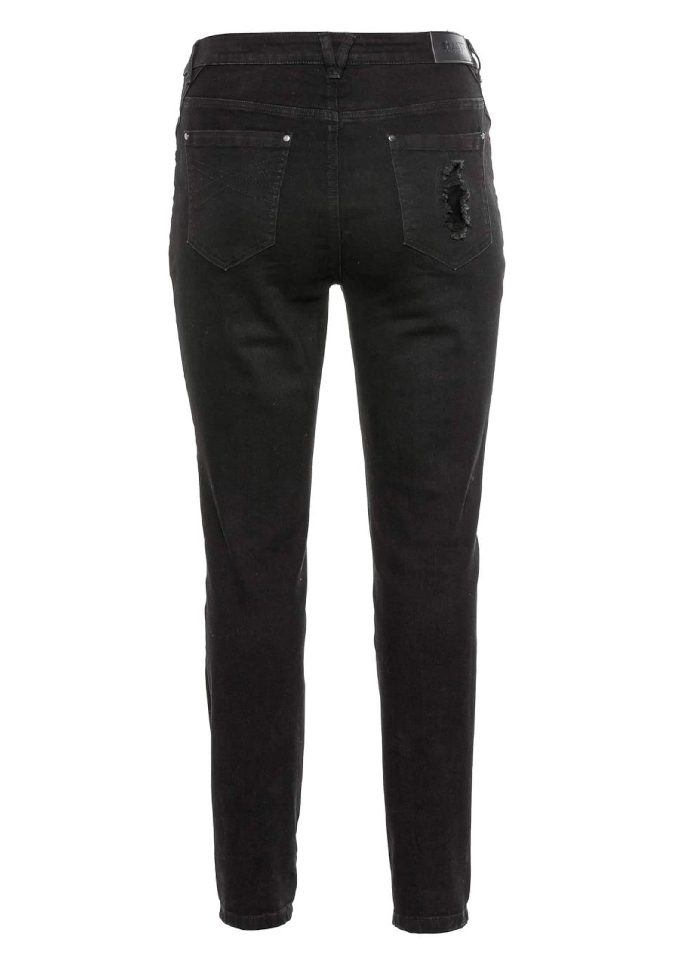 Sheego Jeans In Black Denim Jeans In Black Sheego yYf67bg