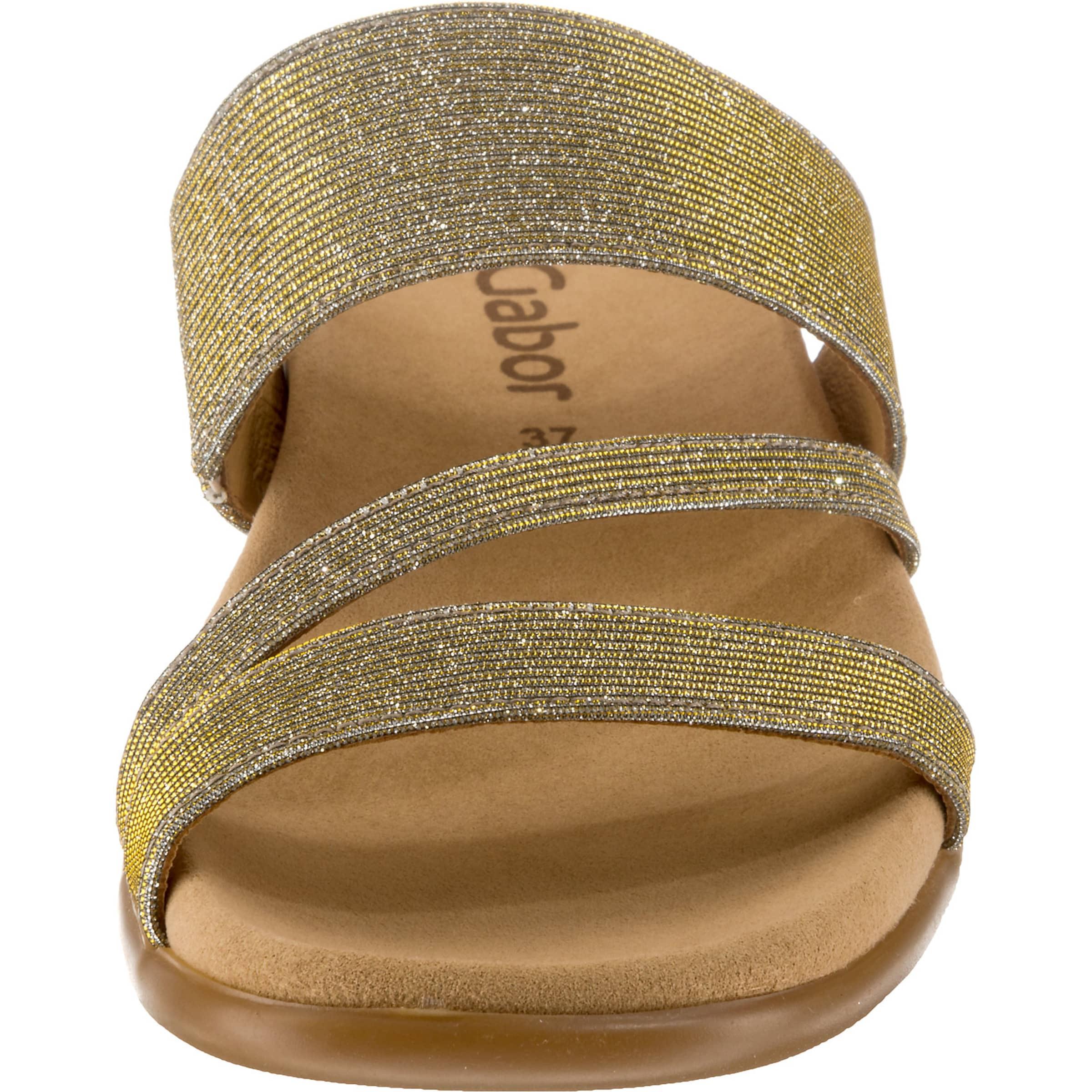GoldKhaki Pantolette Pantolette Gabor In Gabor GoldKhaki Gabor Pantolette In In GoldKhaki Gabor Pantolette In bfg76Yyv