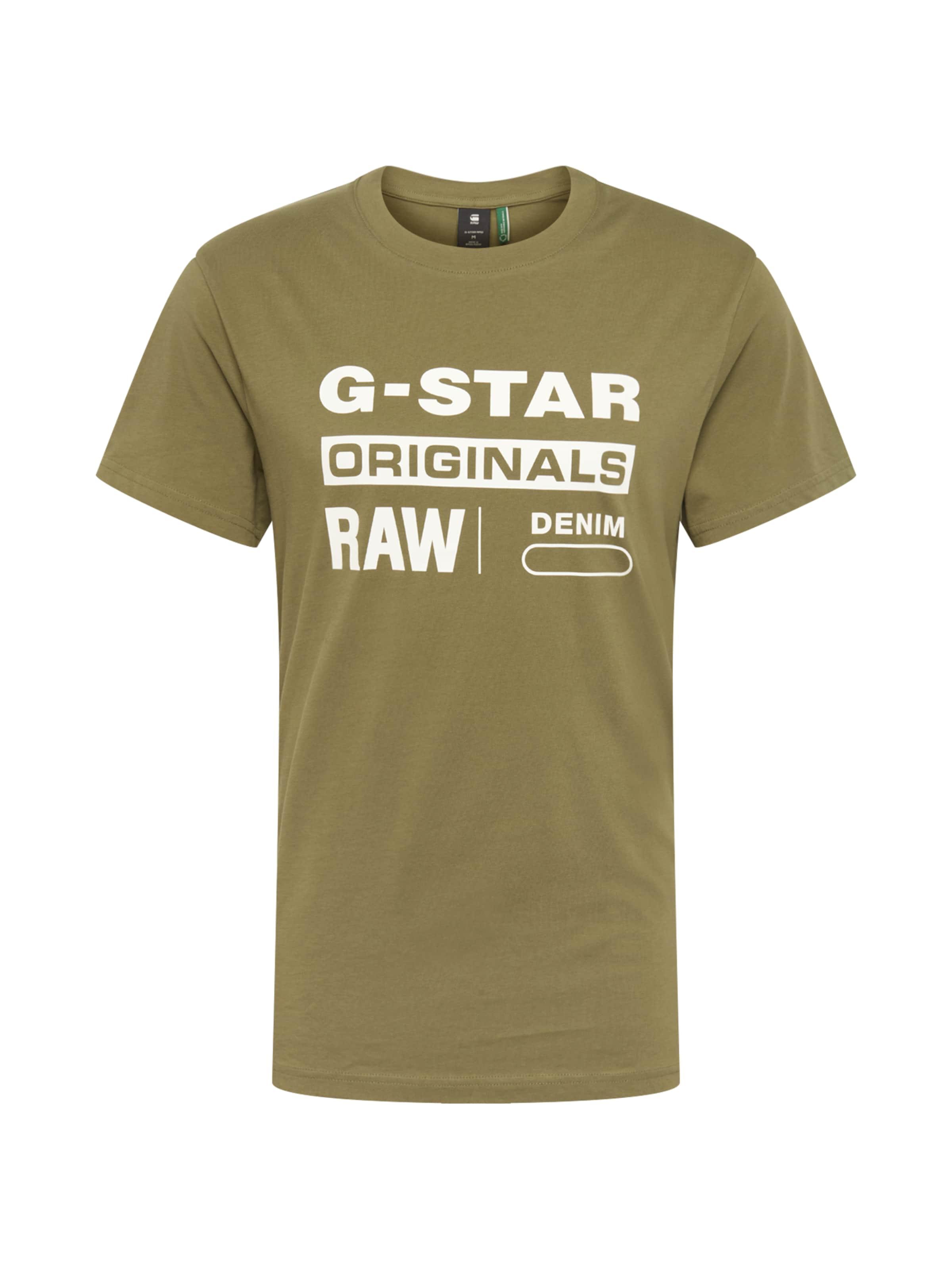 8' KakiBlanc Raw En T 'graphic star G shirt dhQxrsCBt