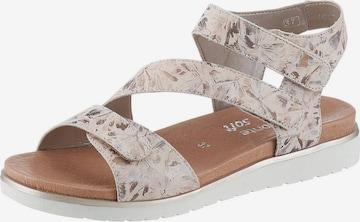 REMONTE Sandale in Beige