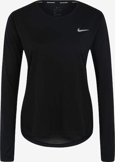 NIKE Functioneel shirt 'MILER' in de kleur Zwart, Productweergave