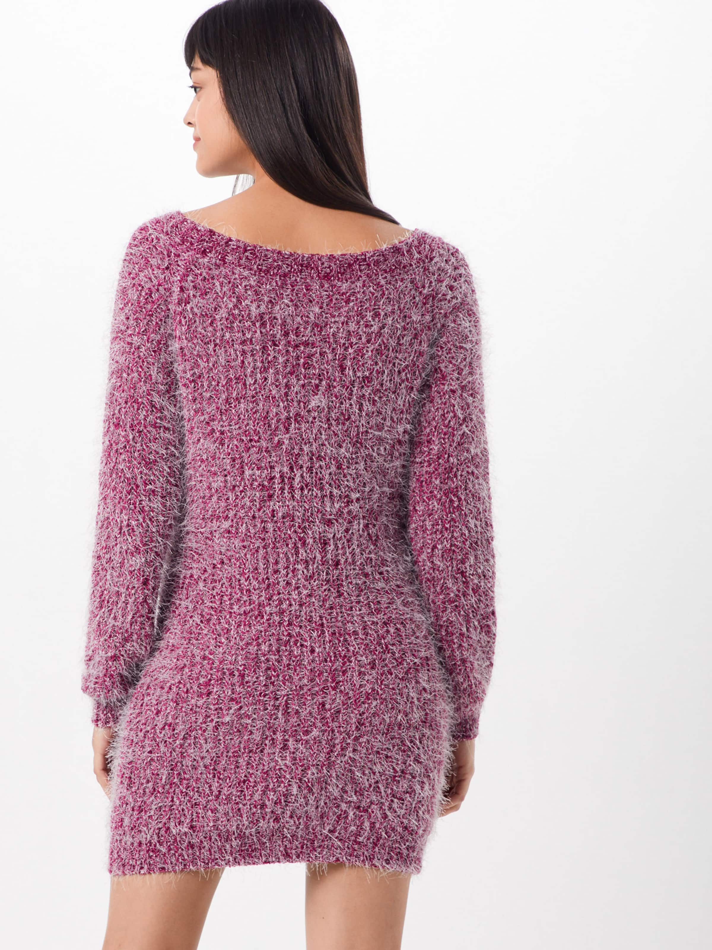 Missguided Missguided 'chenille' In MagentaWeiß Kleid 'chenille' Kleid Missguided In MagentaWeiß 4j3R5AcLq