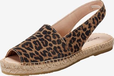 Crickit Sandale 'Lisa' in braun / dunkelbraun, Produktansicht
