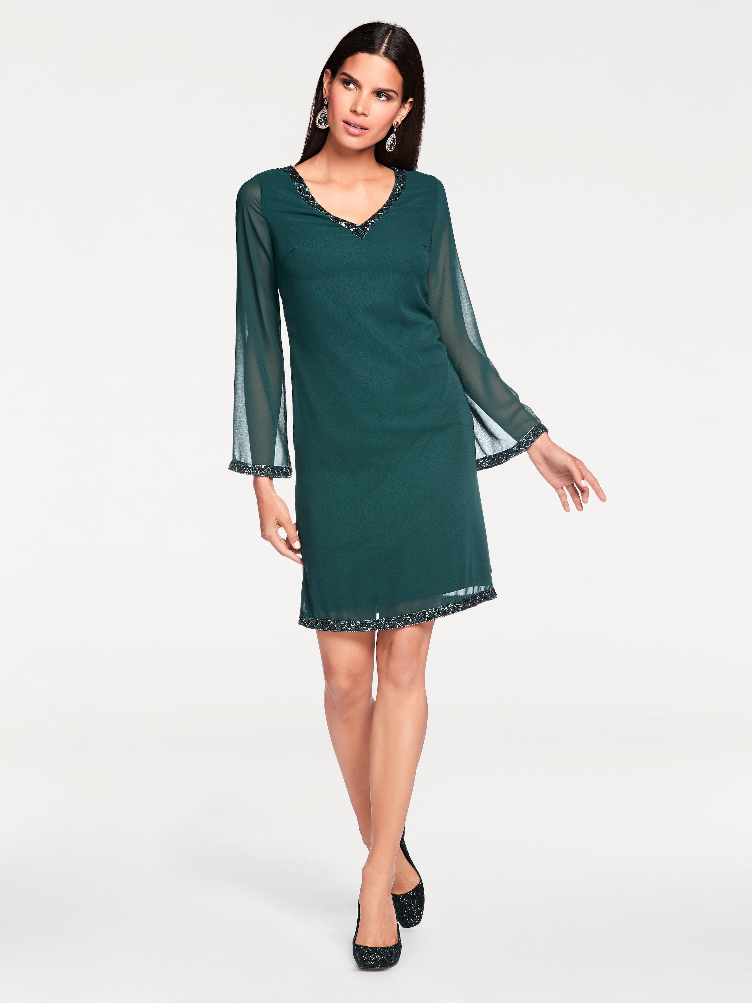 Ashley Brooke by heine Paillettenkleid mit Rückenausschnitt Kosten NqnNLlfx