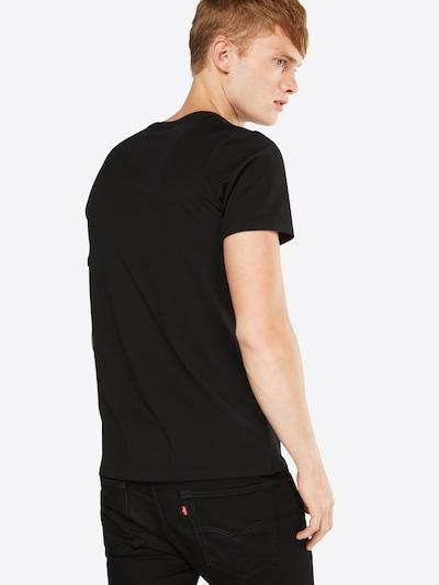 JACK & JONES Shirt in schwarz: Rückansicht