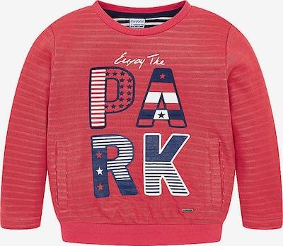 Mayoral Sweatshirt in mischfarben / rot, Produktansicht