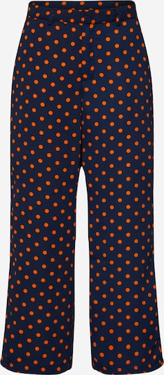 VILA Hose in navy / orange, Produktansicht