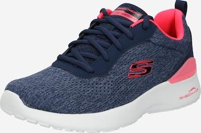 tengerészkék / korál SKECHERS Rövid szárú edzőcipők, Termék nézet