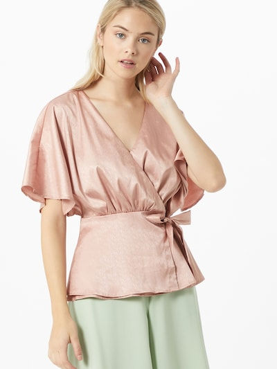 Bluză 'KINI' VILA pe roz: Privire frontală