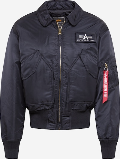 ALPHA INDUSTRIES Jacke in schwarz, Produktansicht