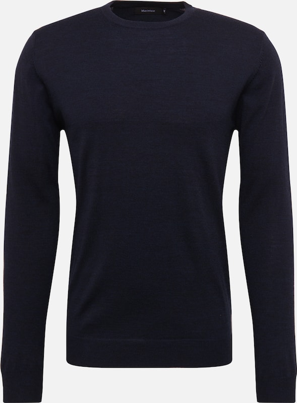 Matinique Pullover 'Margrate' in navy, Produktansicht