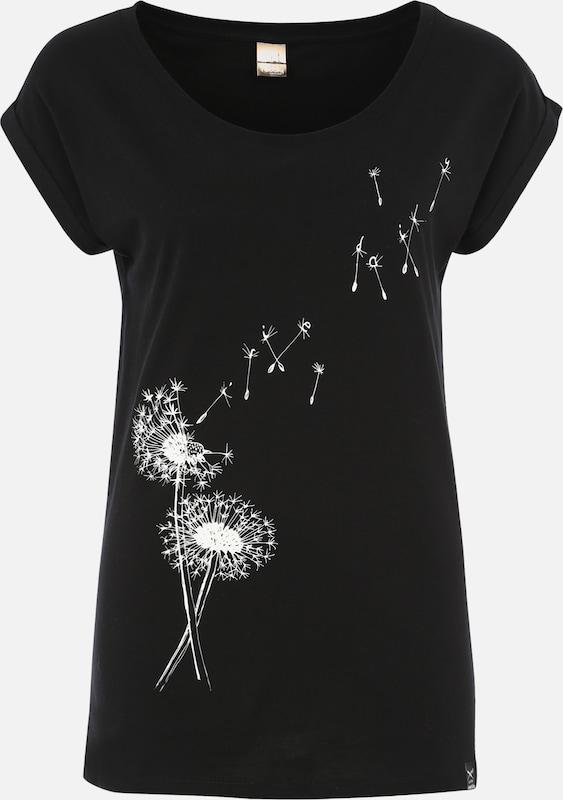 En Noir shirt T 'pusteblume' Iriedaily QoredCxBWE