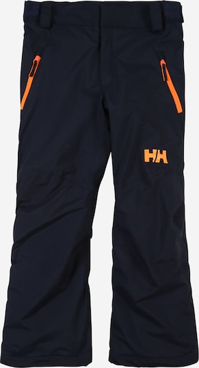 HELLY HANSEN Hose 'LEGENDARY' in navy / orange, Produktansicht