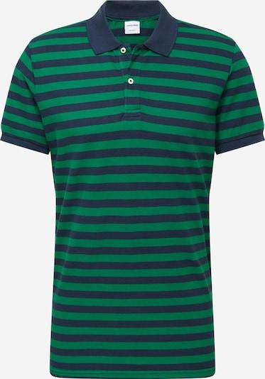 JACK & JONES Tričko - tmavě modrá / zelená: Pohled zepředu