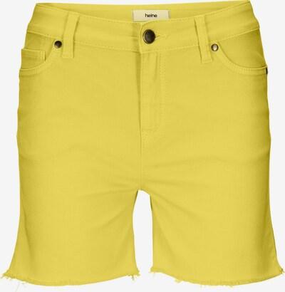 heine Shorts in gelb, Produktansicht