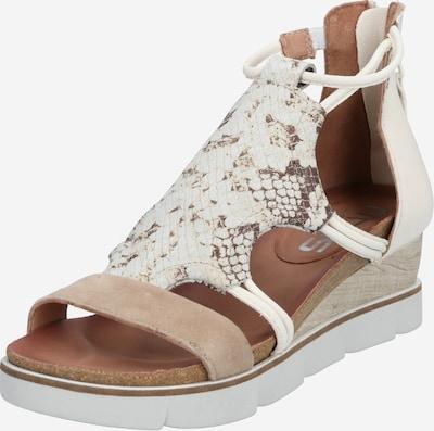 MJUS Sandale 'TAPASITA' in beige / weiß, Produktansicht