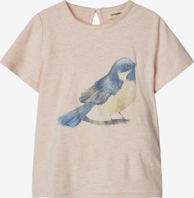 NAME IT T-Shirt in beige / dunkelblau / hellgelb, Produktansicht