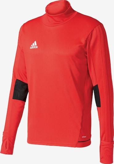 ADIDAS PERFORMANCE Trainingsshirt 'Tiro 17' in rot / schwarz, Produktansicht