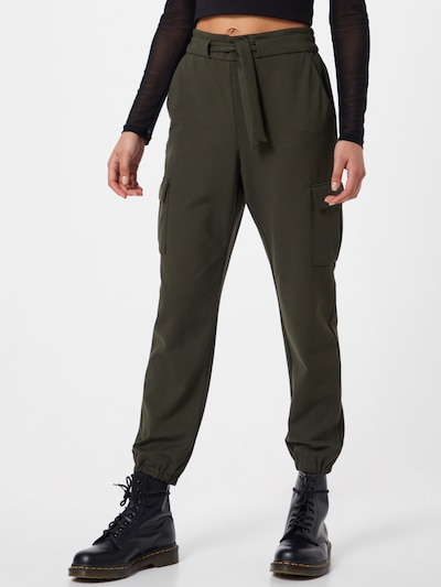 ONLY Cargo trousers 'ONLPOPTRASH CARGO' in Green, View model