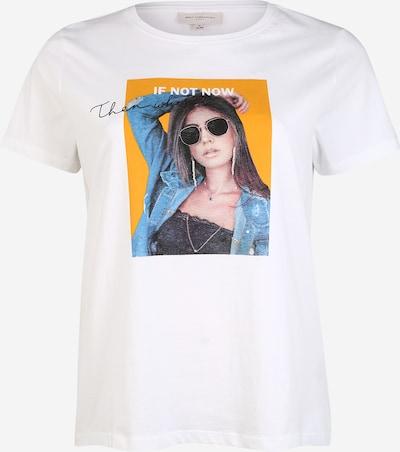 ONLY Carmakoma T-shirt en blanc, Vue avec produit