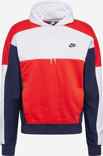 Nike Sportswear Sweatshirt in navy / rot / weiß, Produktansicht