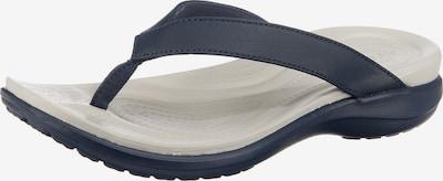 Crocs Zehentrenner 'Capri V Flip W' in blau / weiß, Produktansicht