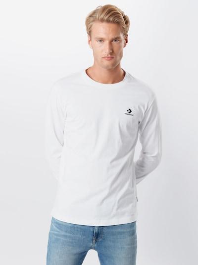 CONVERSE Majica   temno modra / bela barva: Frontalni pogled