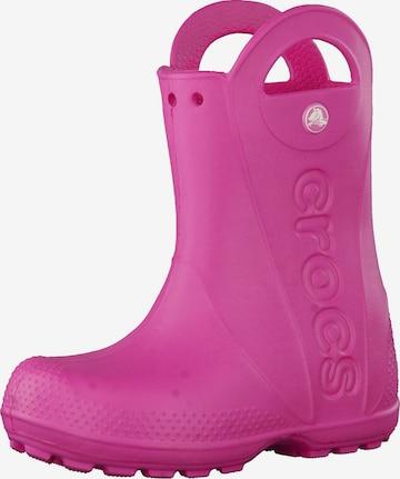 Crocs Gummistövel i rosa