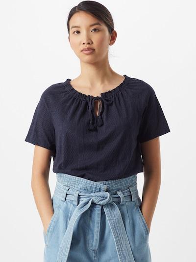 CECIL Bluse 'Carmen' in dunkelblau, Modelansicht