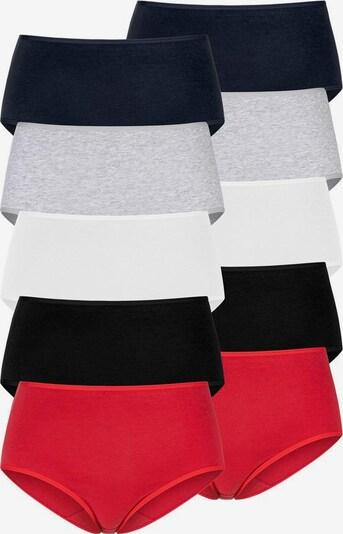 GO IN Panty in Red / Black / White, Item view