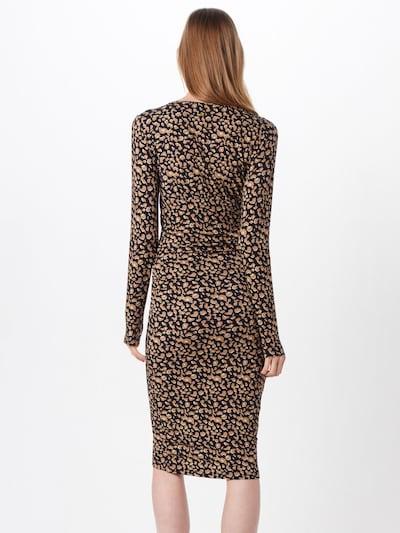Suknelė iš Freebird , spalva - ruda / juoda: Vaizdas iš galinės pusės
