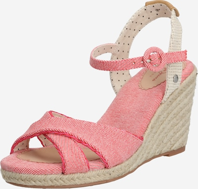 Pepe Jeans Sandalen met riem 'SHARK SWEET' in de kleur Beige / Pink, Productweergave