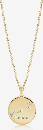 Sif Jakobs Kette 'Sternzeichen Steinbock' in gold, Produktansicht
