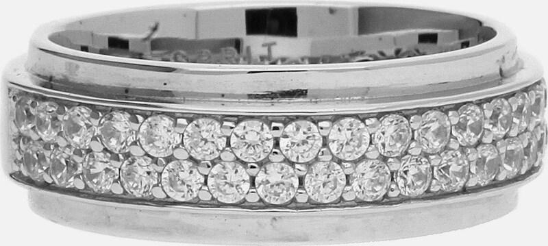 ESPRIT Damen Fingerring Silber Modern Shape 'ESRG92374A'