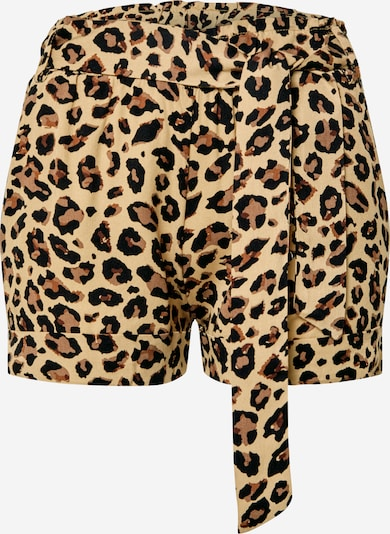 Hailys Shorts 'SH V TR Lucia' in braun / schwarz, Produktansicht