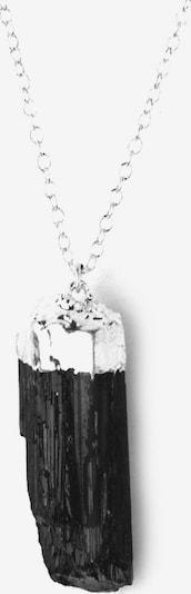Koshikira Kette in schwarz / silber, Produktansicht