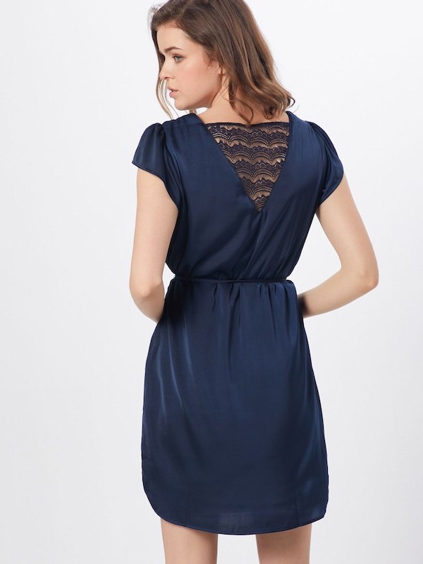 'vimelli' Bleu Robe Cobalt Vila En 3Sqc5RjL4A