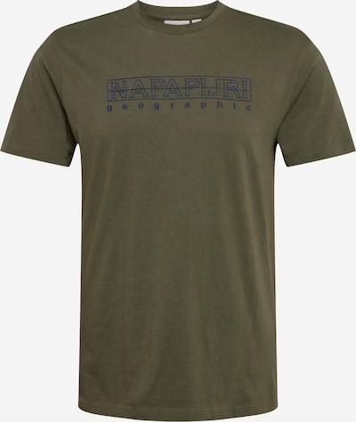 NAPAPIJRI T-Shirt 'SEBEL' en marine / kaki, Vue avec produit