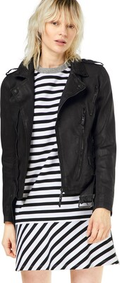 BE EDGY Bikerjacke im Lederlook  'LUCIA'