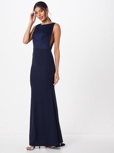 Missguided Kleid in dunkelblau, Modelansicht