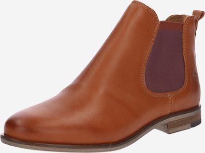 Apple of Eden Chelsea Boot 'Manon' in cognac, Produktansicht