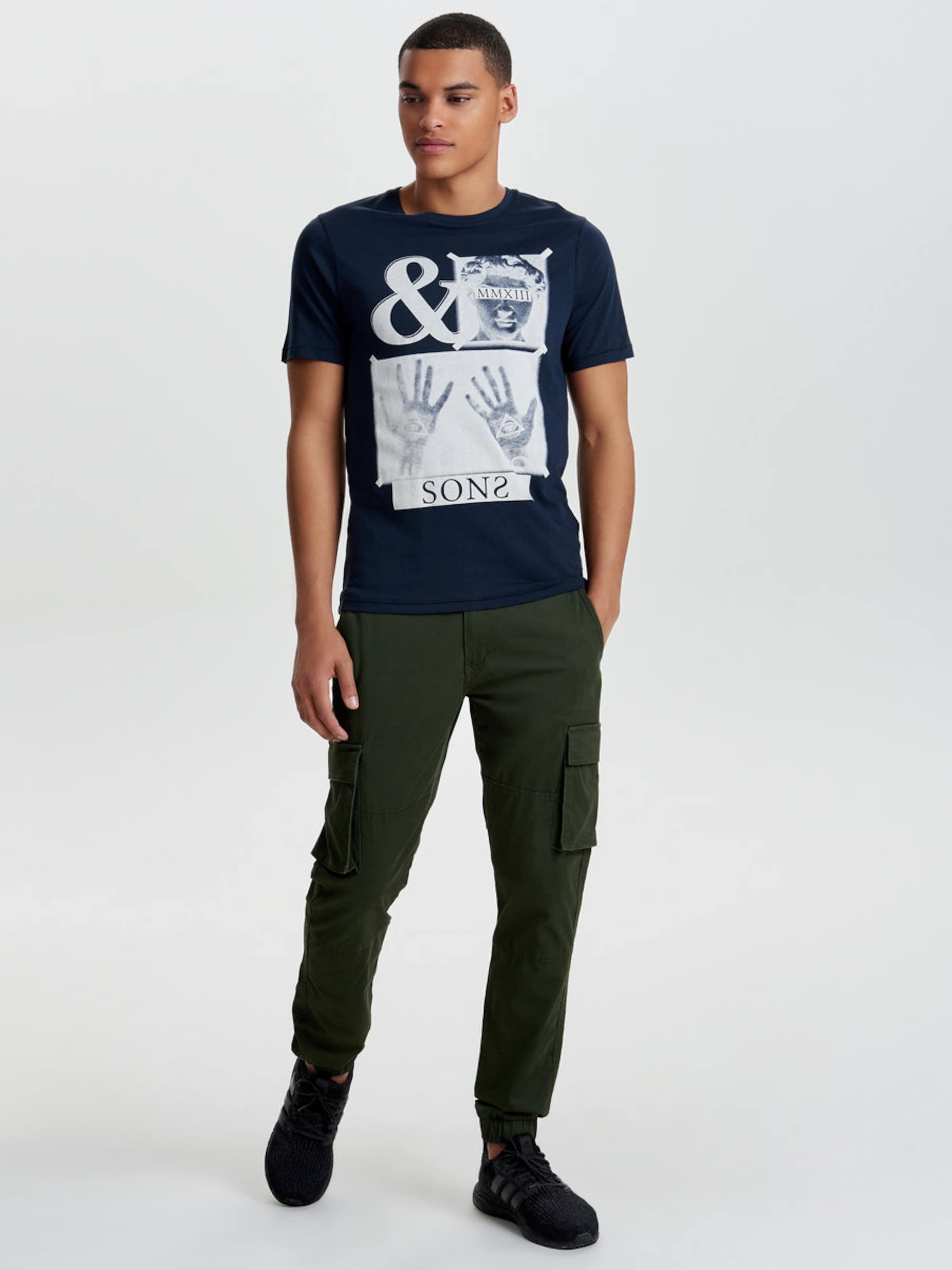 Footlocker Bilder Zum Verkauf Viele Arten Von Online-Verkauf Only & Sons T-Shirt Print Steckdose Vermarktbaren FlHPPDapFB